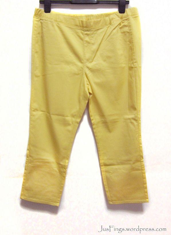 UNIQLO XXL Yellow Legging Pants S$33
