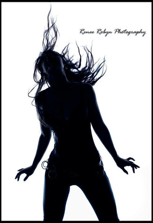 Black & White Silhouette Images - Prints from a shoot by Renee Robyn Photography - $20.00 each