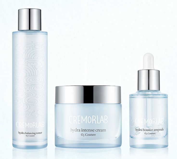 CREMORLAB O2 Couture Hydration Care Solution Skincare Set - Korean Cosmetics #CRENORLAB
