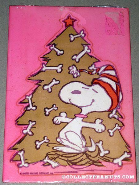 Snoopy's Christmas tree!