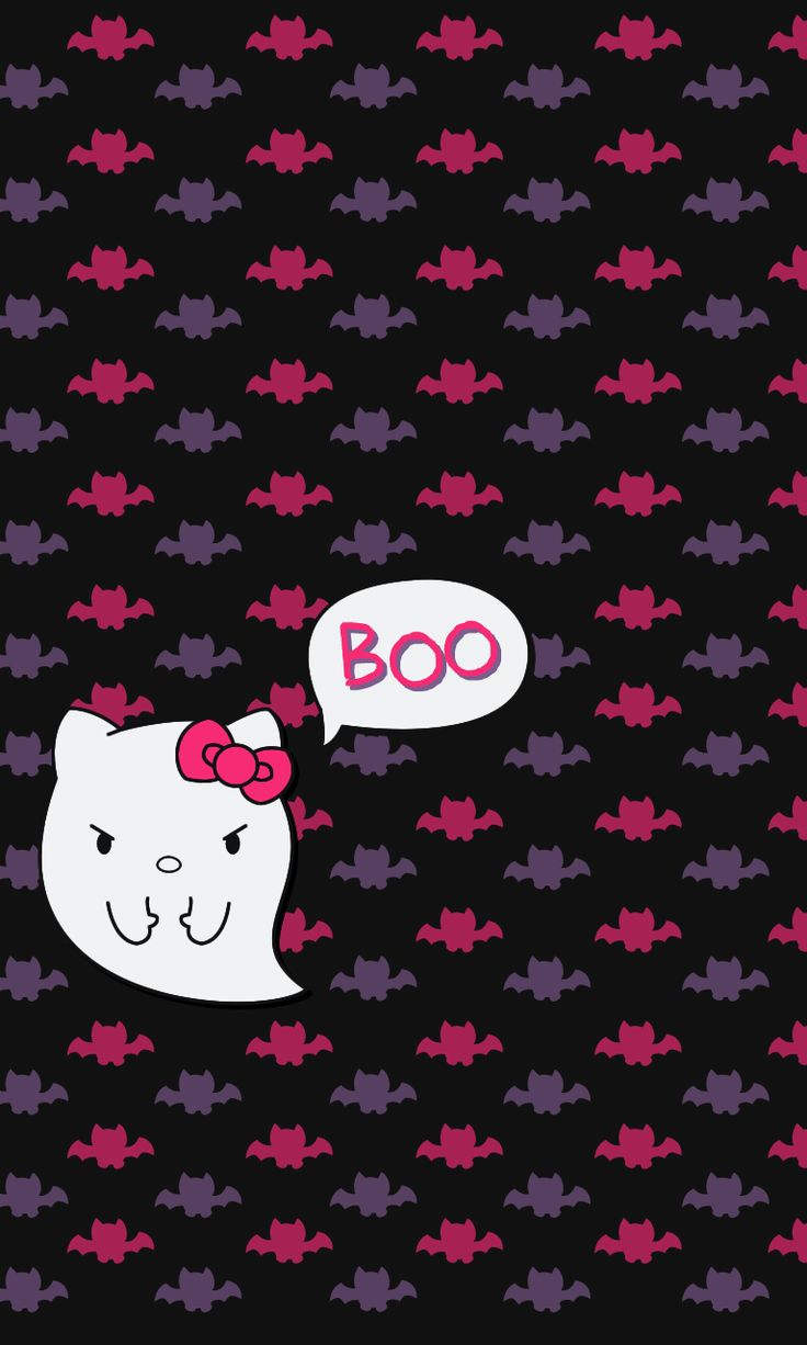 Iphone wallpaper halloween tumblr - Hello Kitty Halloween Wallpapers Blueberrythemes Hello Kitty Wallpapers Halloween Edition