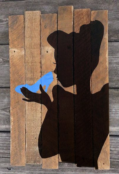Hey, I found this really awesome Etsy listing at https://www.etsy.com/listing/238943897/cinderella-painted-wood-sign-disney
