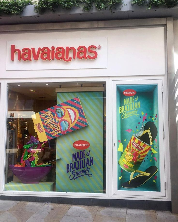 "HAVAIANAS EUROPE, Canaby Street, London, UK, ""The breakfast of champions!"", creative by StudioXAG, pinned by Ton van der Veer"