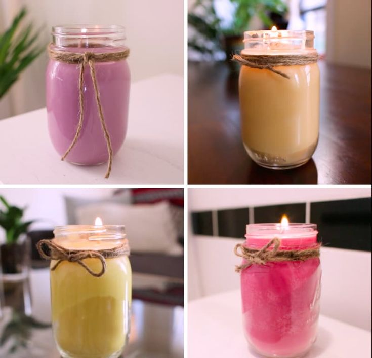Learn How To Make DIY Aromatherapy Candles