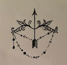 ornamental - victorian - Sagittarius - tattoo ideas