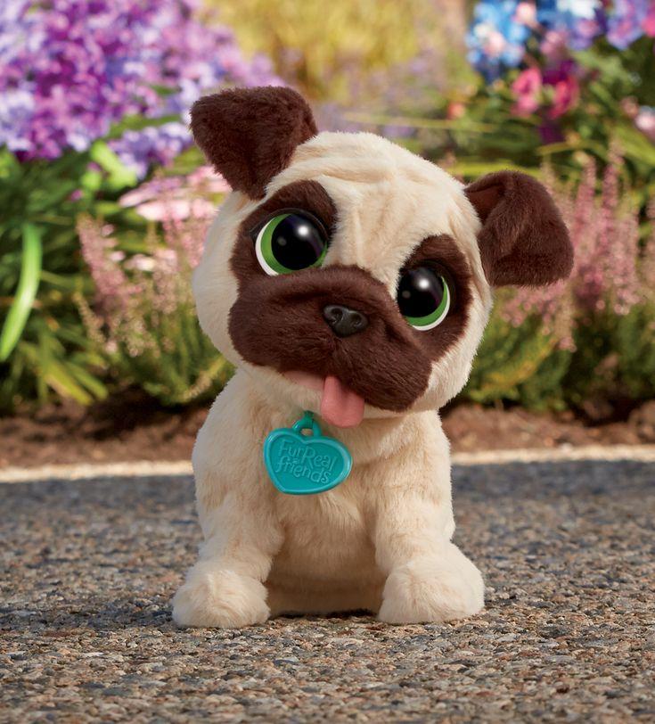 """FurReal Friends """"Mój piesek Mopsik"""" to słodki, pluszowy zwierzak, który chce zostać najlepszym przyjacielem Twojej pociechy. #piesek #zabawka #dzieci"""