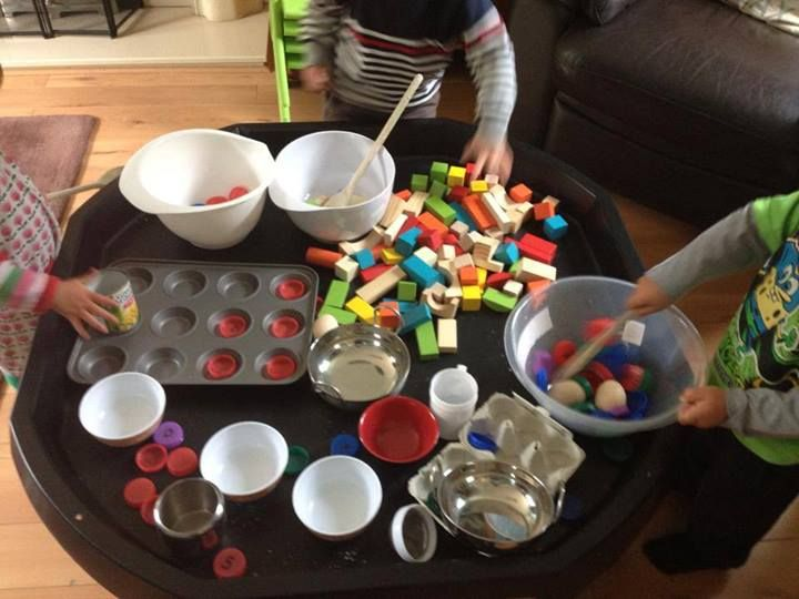 """Cooking play with loose parts from Play, naturally ("""",)"""