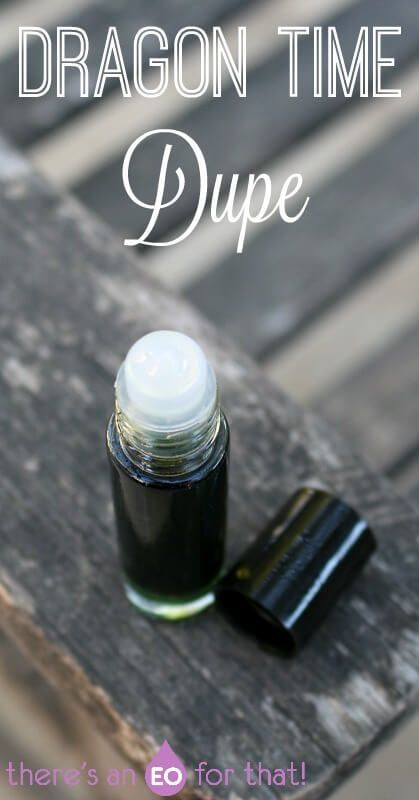 Dragon Time Essential Oil Dupe - Learn how to make your own version of this effective synergystic blend. The oils in Dragon Time help ease PMS, balance the mood and hormones, and relieve painful periods.