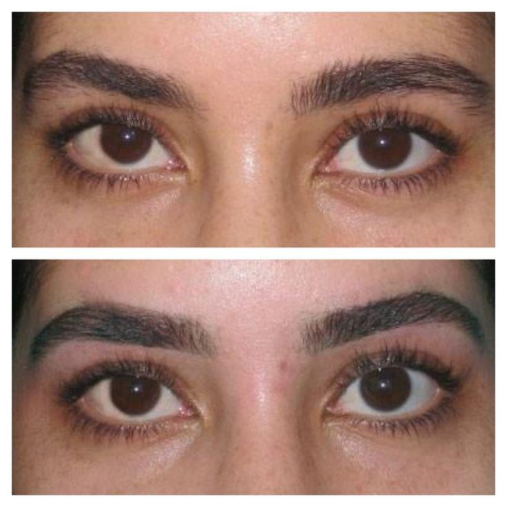 Before& after eyebrow threading   eyebrow threading ...