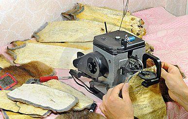 Технология работы с мехом