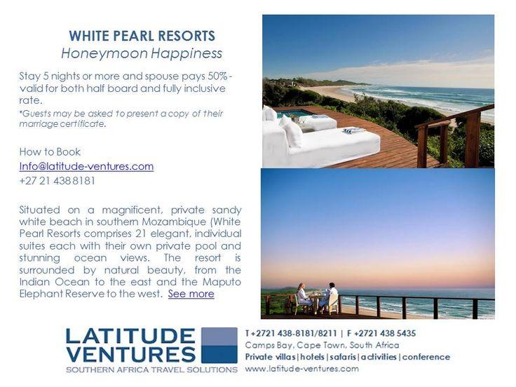 #WhitePearl #Honeymoon #Mozambique