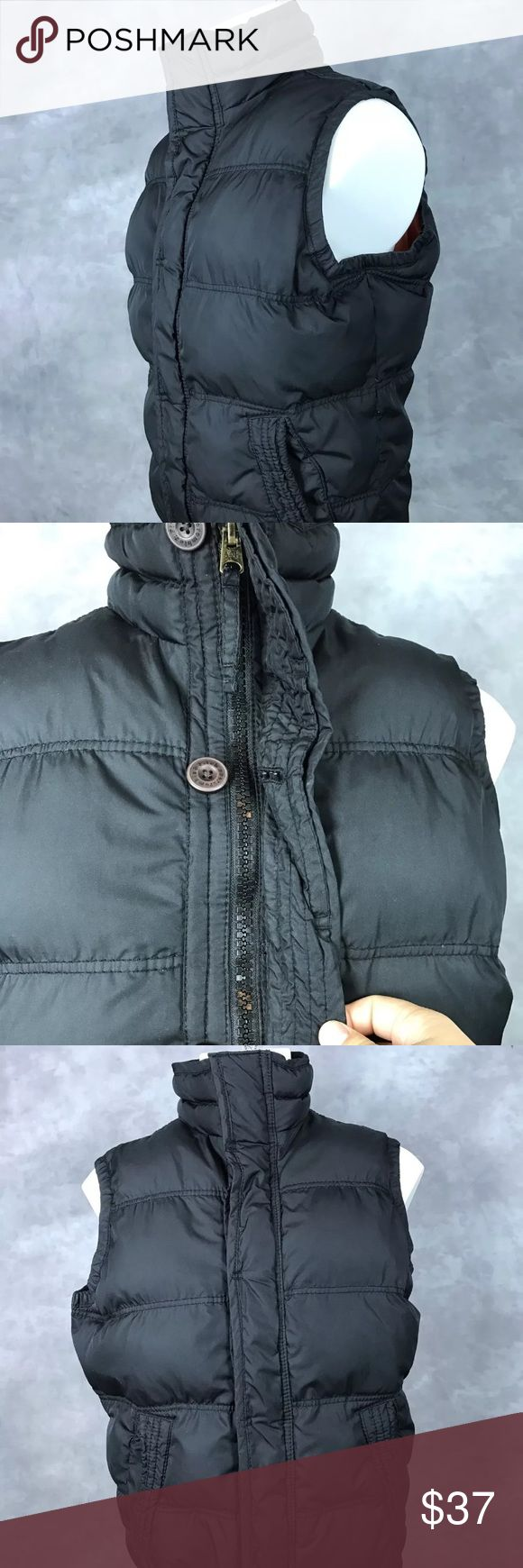 Abercrombie And Fitch summit rock Down vest Great used condition Abercrombie & Fitch Jackets & Coats Vests