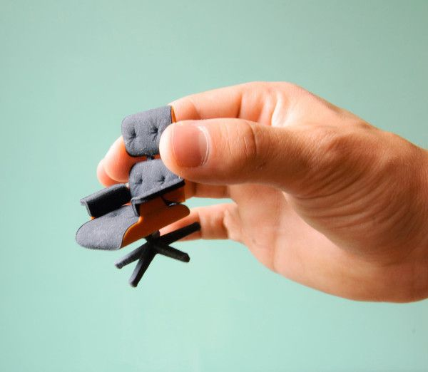 3D Printed Eames Lounge Chair by Kevin Spencer Photo