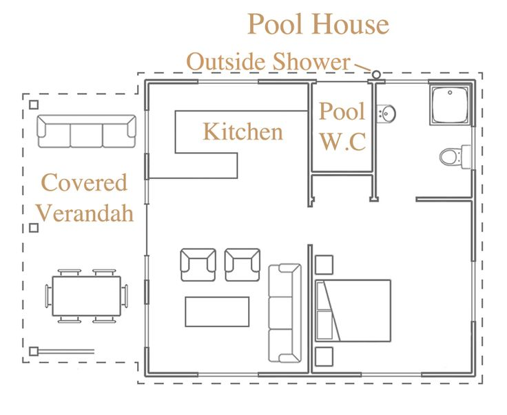 like this pool house plan