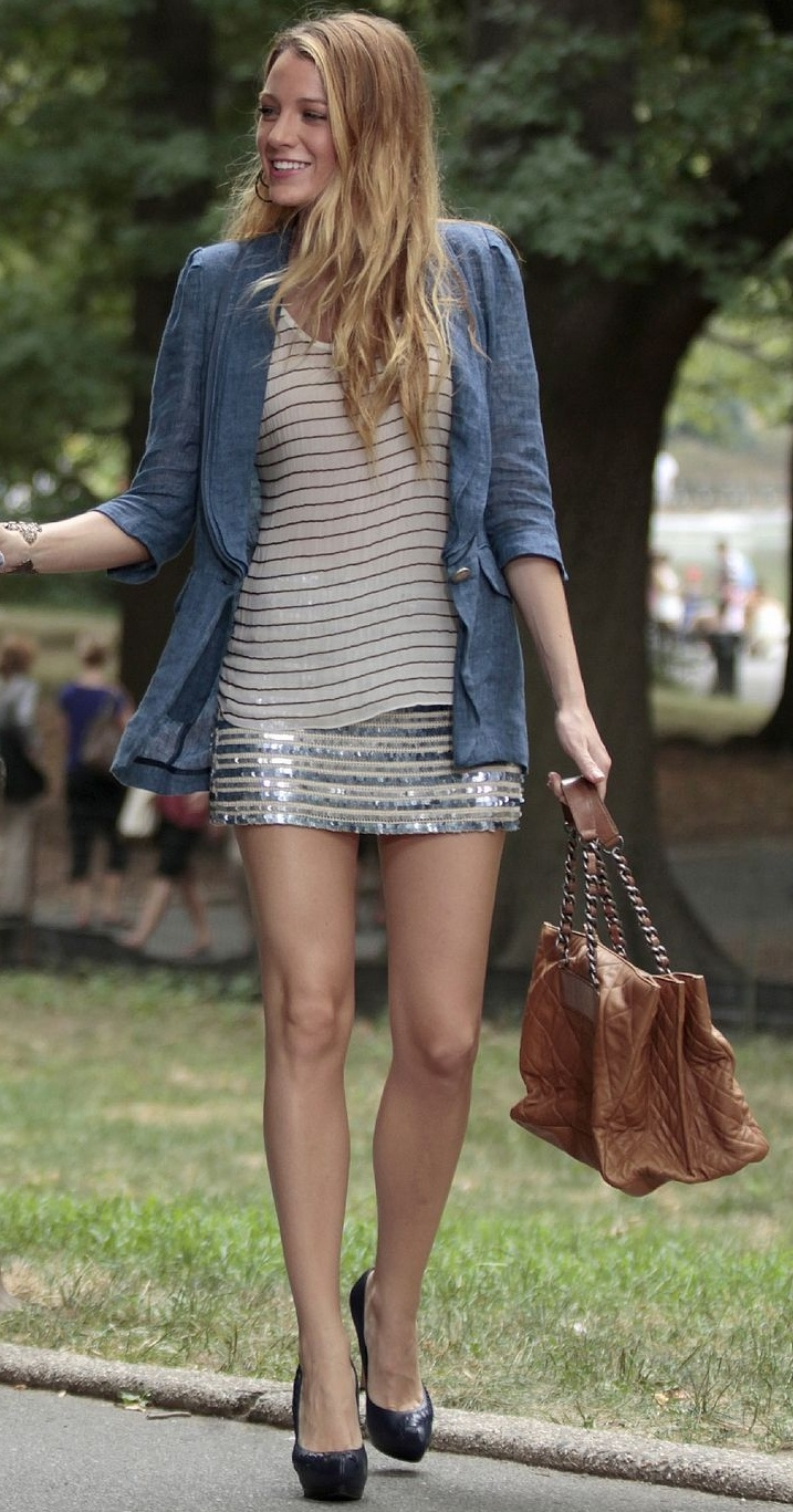 Nobody watched Gossip Girl for the acting they watched it for the fashion. Blake Lively was spectacular as Serena Van Der Woodsen