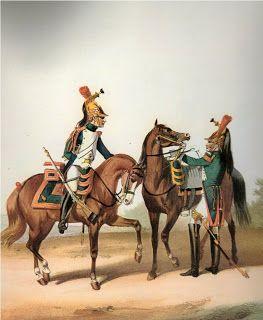 Dragoni in uniforme da parata 1806- Marbot