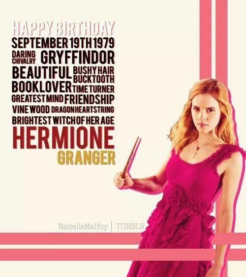 happy birthday hermione by - photo #8