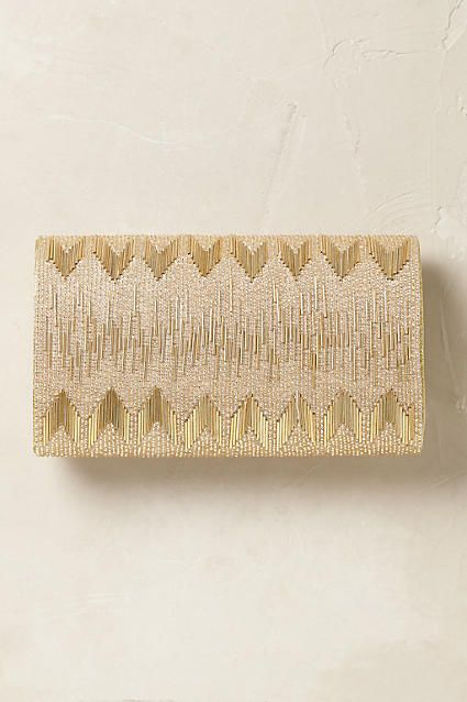 Garbo Beaded Clutch - anthropologie.com