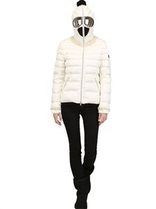 AI RIDERS ON THE STORM for @LUISAVIAROMA.COM  LIMITED EDITION EMBELLISHED DOWN JACKET