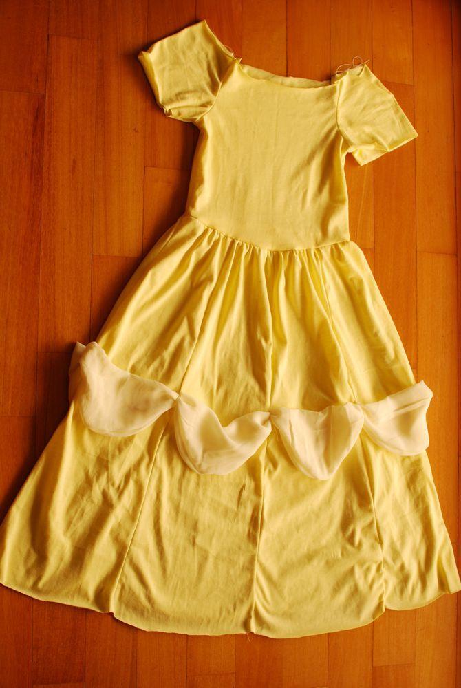 Gratis Fasching Schnittmuster - The Belle Dress
