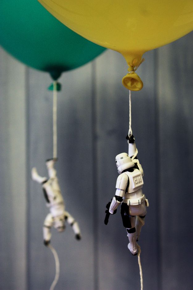 Fun in the world of Star Wars. So geekin' cute. More