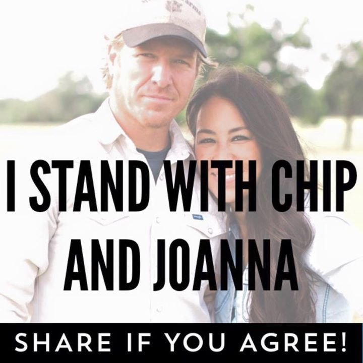 "Chip and Joanna Gaines of HGTV's Fixer Upper are being called ""anti-gay"" for attending a Bible-believing church. Will you stand with them? http://bb4sp.com/"