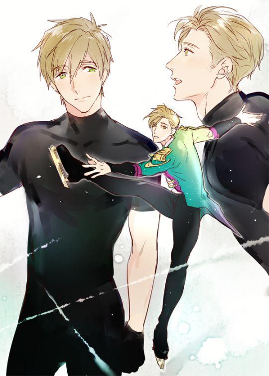 Makoto on Ice <3 Free / Yuri on Ice