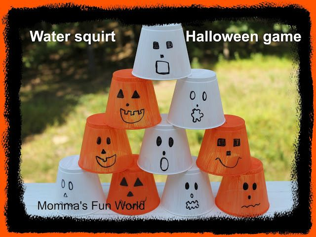 Water Squirt Halloween Game