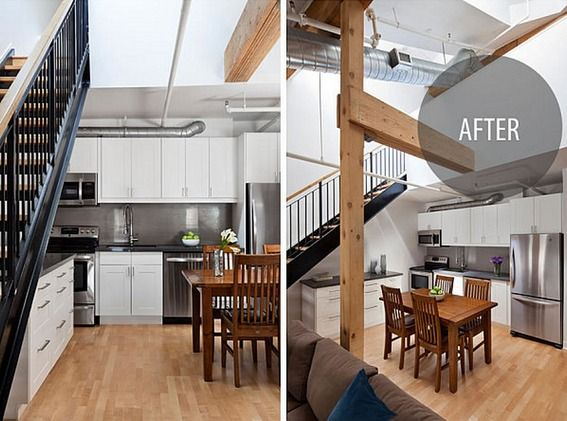 Penthouse Loft Makeover: A Blend of Rustic and Modern » Curbly | DIY Design Community