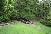 """Horse Thief Springs Outlaws once frequented this small spring during the days of the """"Hanging Judge."""""""