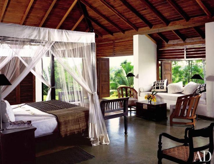 What an exotic bedroom retreat!  #Romance #Bedroom #Decor