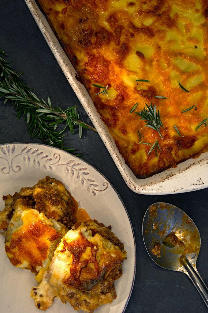 This beef lasagne will change your life. #CafeMozart #madamezingara #lasagne