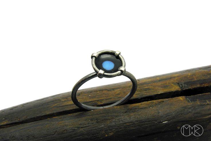 Silberschmuck - Silber Ring SIMPLE 11 von MartaRudnicka auf DaWanda.com