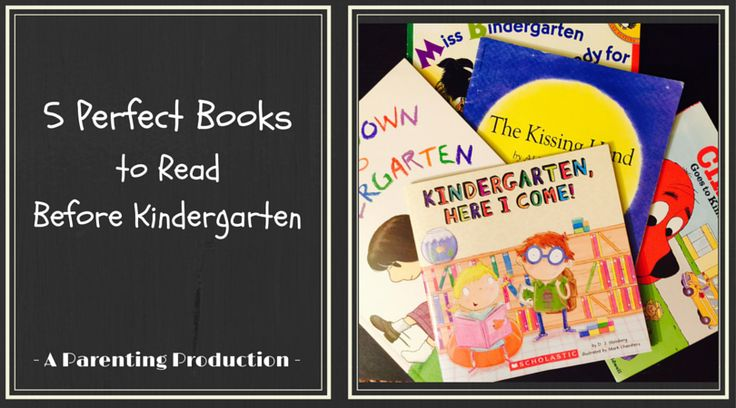 5 books to help you and your child prep for kindergarten