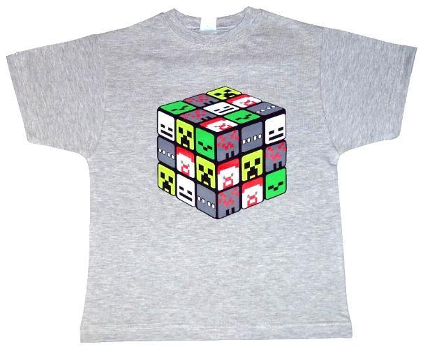 T-shirt dla gracza w MINECRAFT'a 140 -PL - NOWOŚĆ
