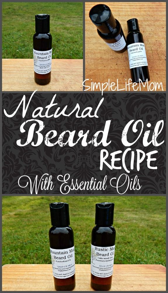 Natural Beard Conditioning oil recipe that is organic and nourishing to all beard types and lengths, from stubble to knee length. Made with jojoba oil.