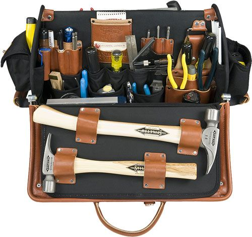 Occidental Leather Doctor Wood Tool Case Side 1