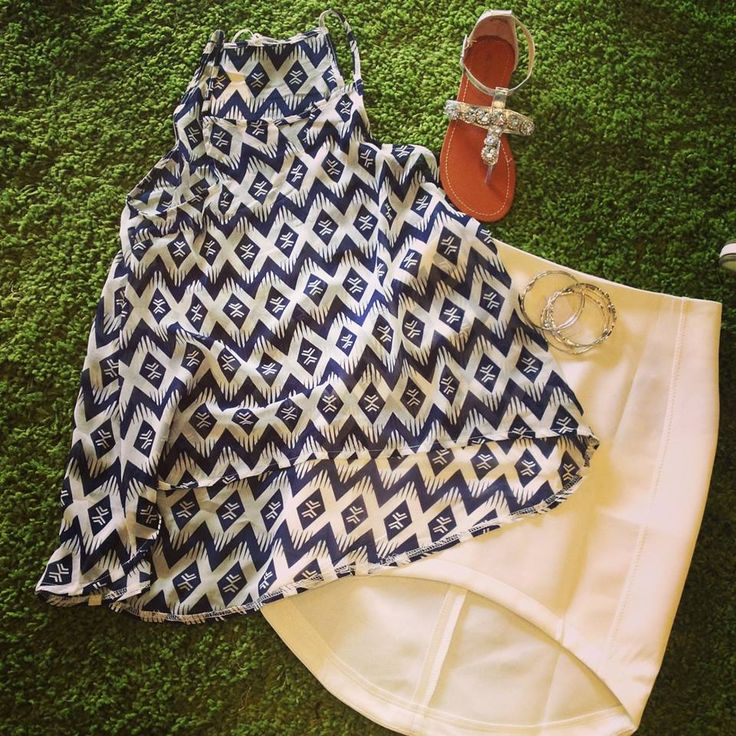 Aztec dreams top $20  Risky business skirt $20   Glitter me sandal $40  Love bangles $12   Total :$92 — at Style Society Sydney.