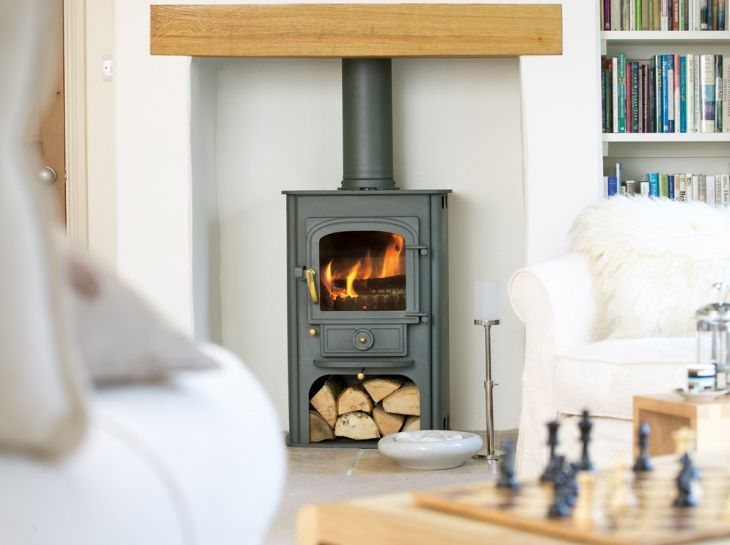 This is the style of stove I would like - I think the shape will look lovely in the space