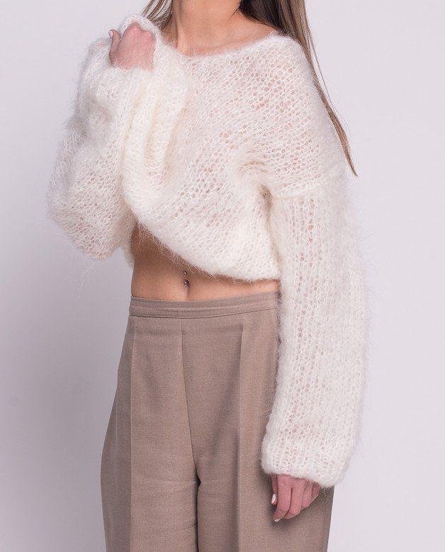 Long Hair Mohair - VLOKA_HANDMADE - Swetry i bezrękawniki