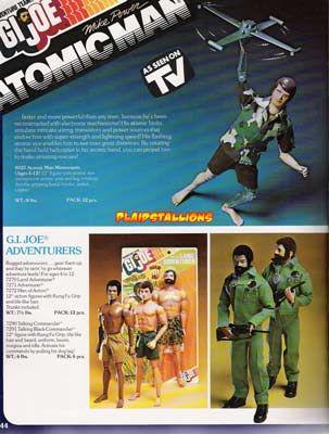 GI Joe Adventure team