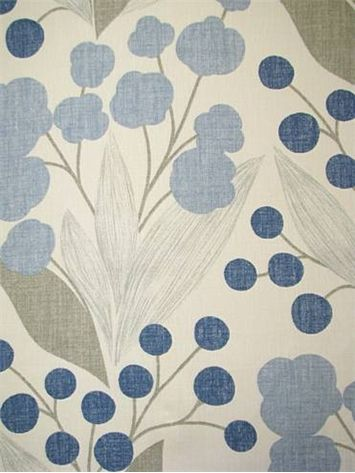 "Capparis Aegean:Kravet Fabric - 100% Linen Made in USA. 15,000 double rubs. 27"" up the roll repeat. Perfect for drapery or light use upholstery. 54"" wide"
