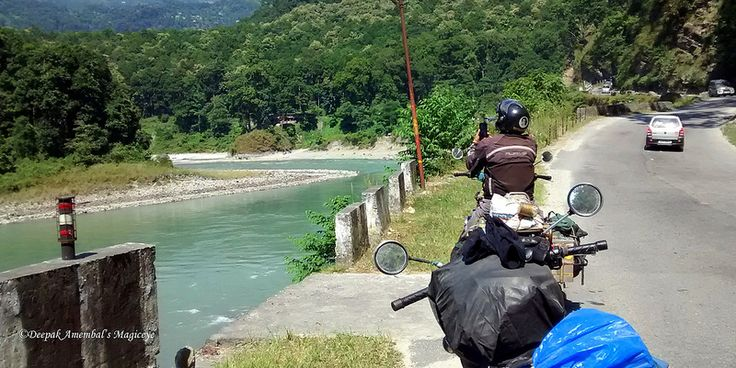Teesta river flows alongside the road from Siliguri to Gangtok. @lonelyplanet_in