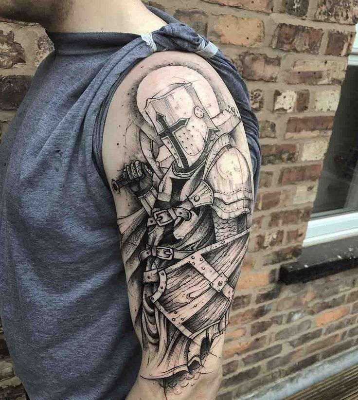 Best 25 Badass Tattoos Ideas On Pinterest: 25+ Best Ideas About Knight Tattoo On Pinterest