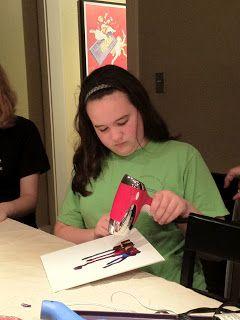 Hannah Explains It All: Crayon art: LDS Young Women mutual activity