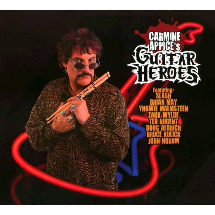 Carmine Appice - Carmine Appice's Guitar Heroes (CD)