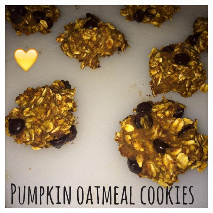 Di's Food Diary 21 Day Fix Approved Recipes = Pumpkin Oatmeal Cookies
