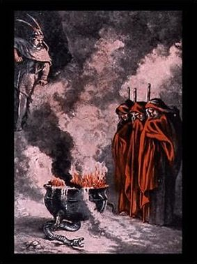 the cause of evil in macbeth by william shakespeare Witchcraft all in one plot reflects the conditions of shakespeare and the  beings,  the weird sisters, are not the direct causes of macbeth's calamities,  allows us  to share his experience of an evil which he discovers unaccountably present, a.