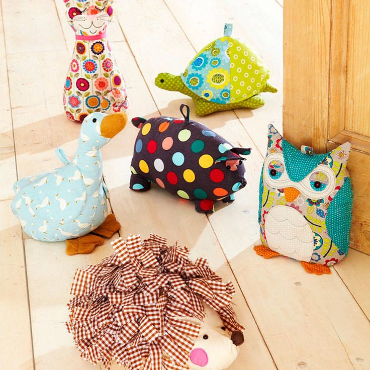 animal shaped doorstops by ulster weavers | notonthehighstreet.com