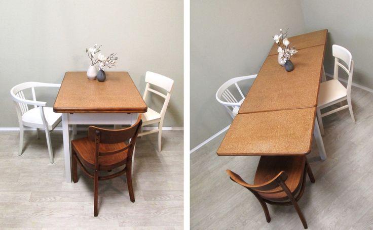 ausziehbarer-linoleum-tisch-11 Mmh Möbel Pinterest
